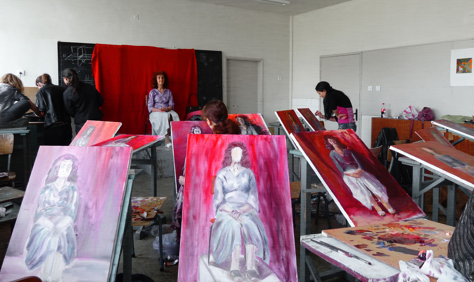 В час по живопис
