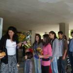Нашият 8а клас с класен ръководител г-жа Саша Бориславова