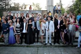 Випуск 2011, 12а клас с класен ръководител Николина Петрова