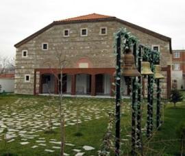 """Храм """"Св.Константин и Елена"""" в град Одрин в Република Турция."""