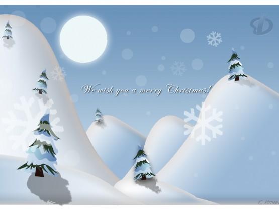Коледна картичка – Кристиян Илиев, 12 клас
